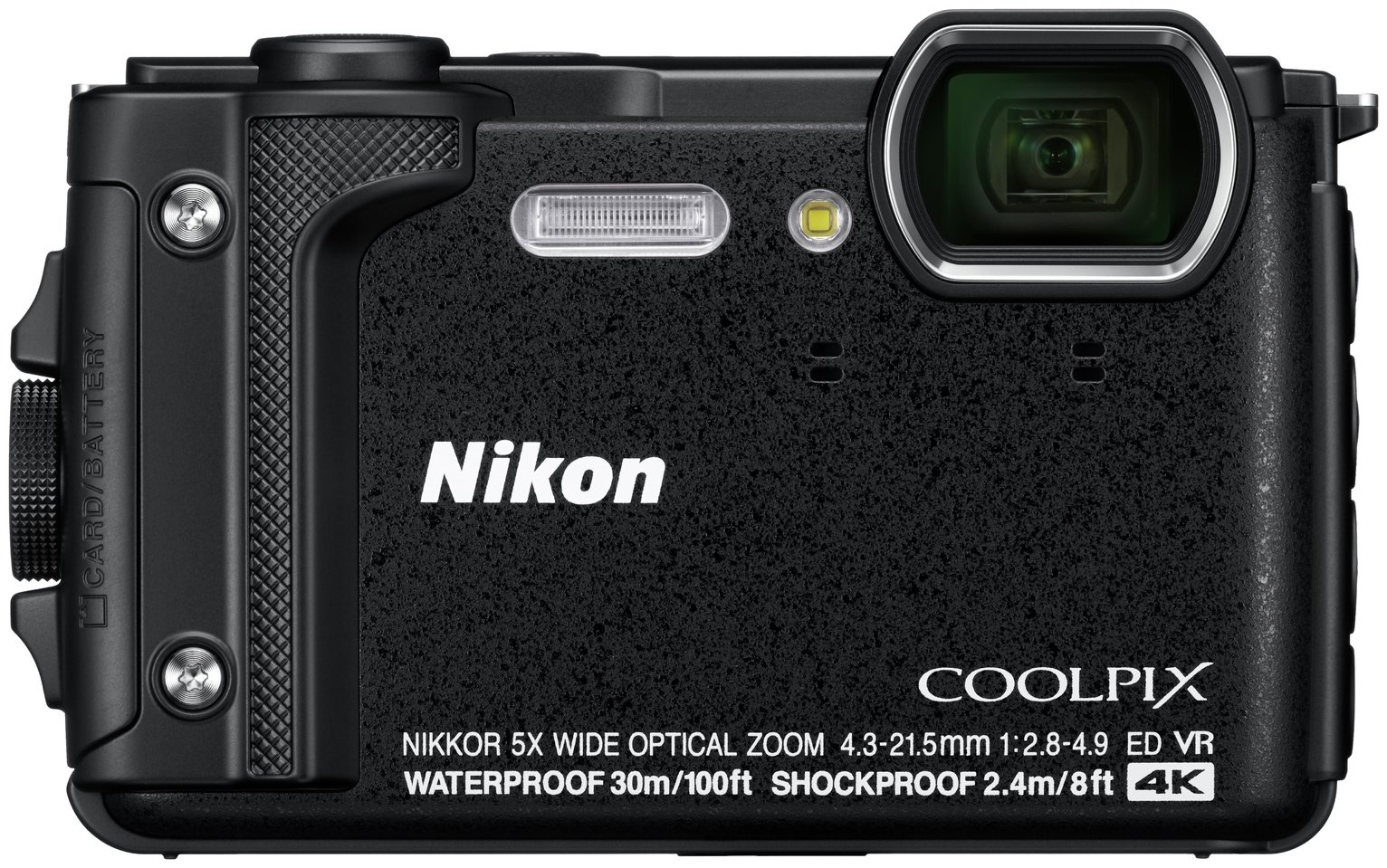 Nikon Coolpix W300 16MP 5x Zoom Compact Camera - Black