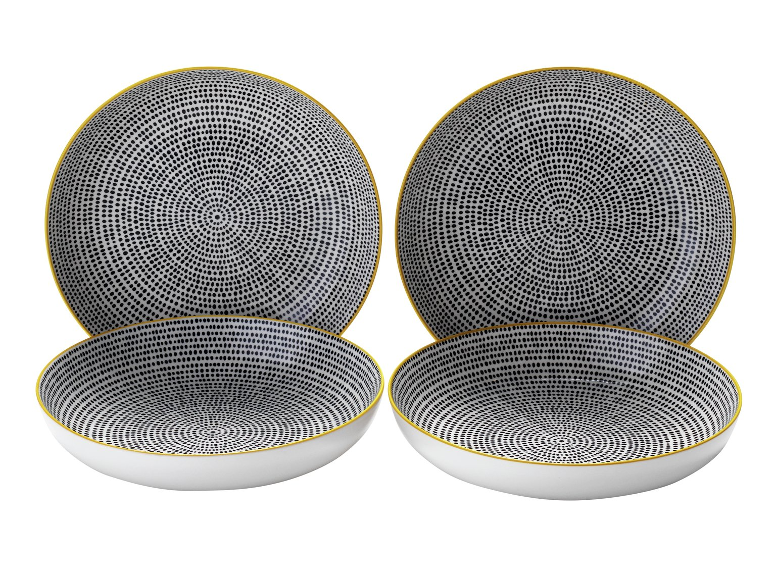review of sainsbury 39 s home helsinki set of 4 pasta bowls. Black Bedroom Furniture Sets. Home Design Ideas