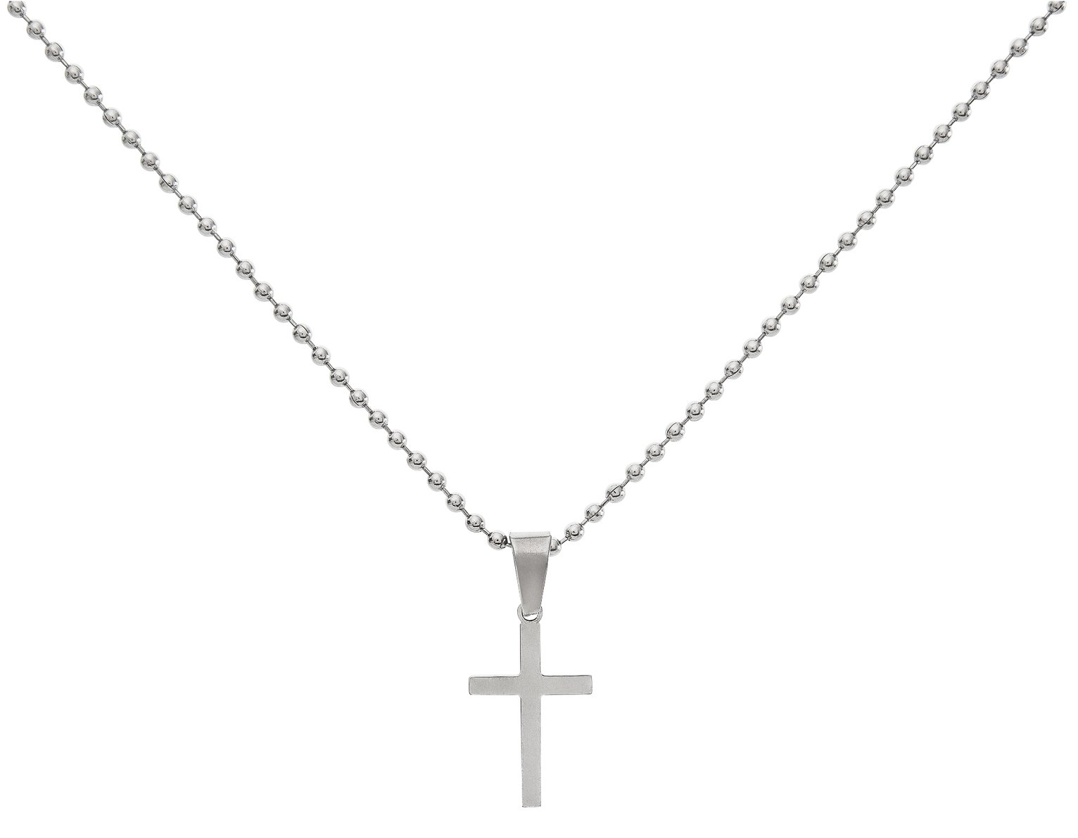 Image of Revere Kid's Stainless Steel Cross Pendant