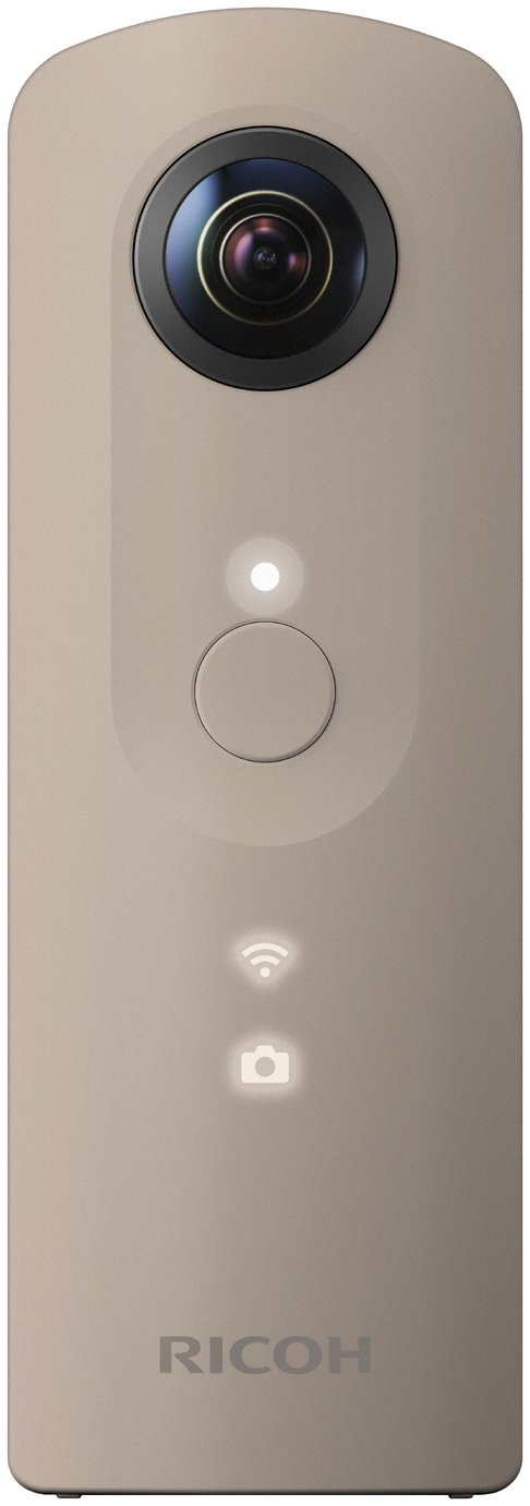 Ricoh Theta SC 360 Degree Compact Digital Camera - Beige