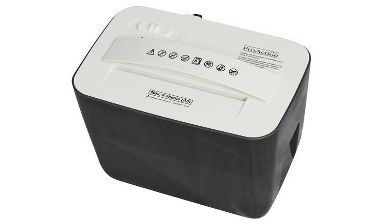 ProAction 8 Sheet 3 Litre Desktop Shredder