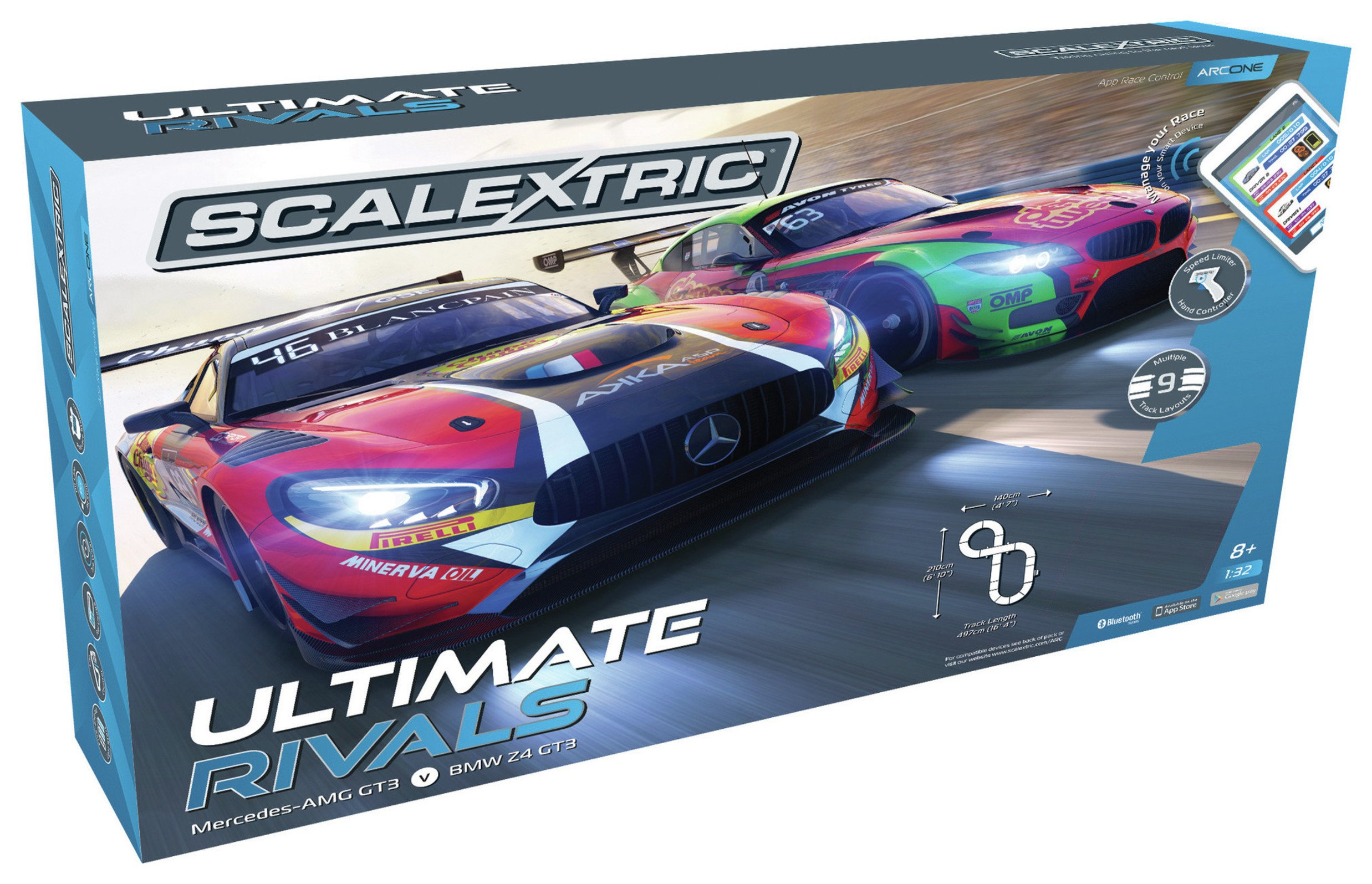 Scalextric Ultimate Rivals Set
