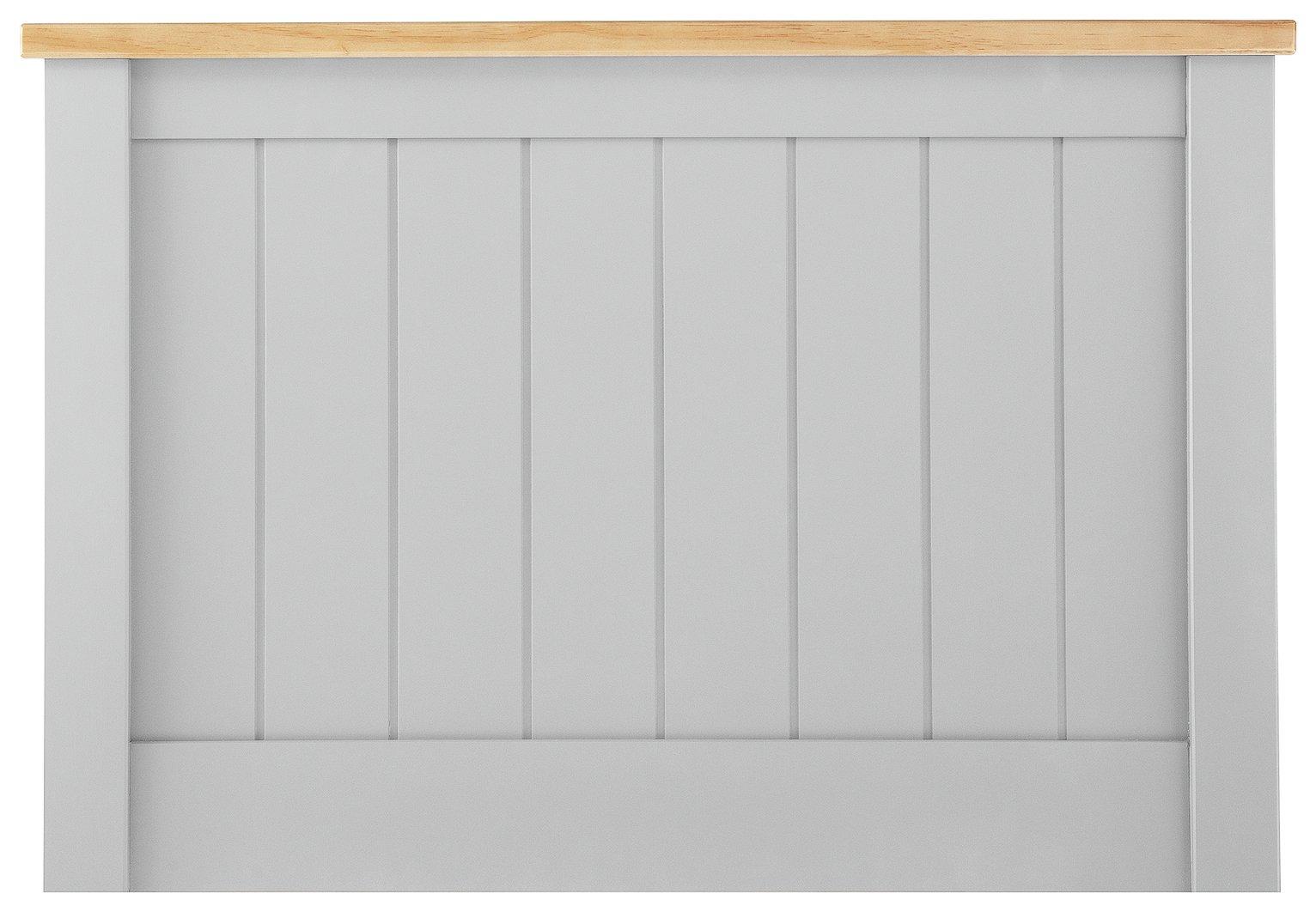 Argos Home Grafton Single Headboard - Two Tone Grey