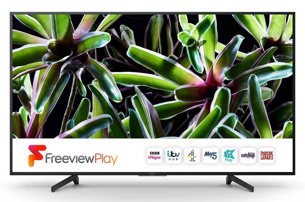 Sony 55 Inch KD55XF7002BU Smart 4K Ultra HD TV with HDR
