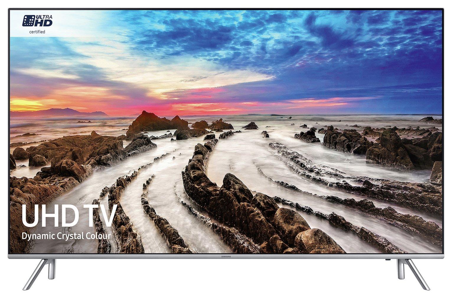 Samsung Samsung 55 Inch 55MU7000 Smart 4K UHD TV with HDR1000