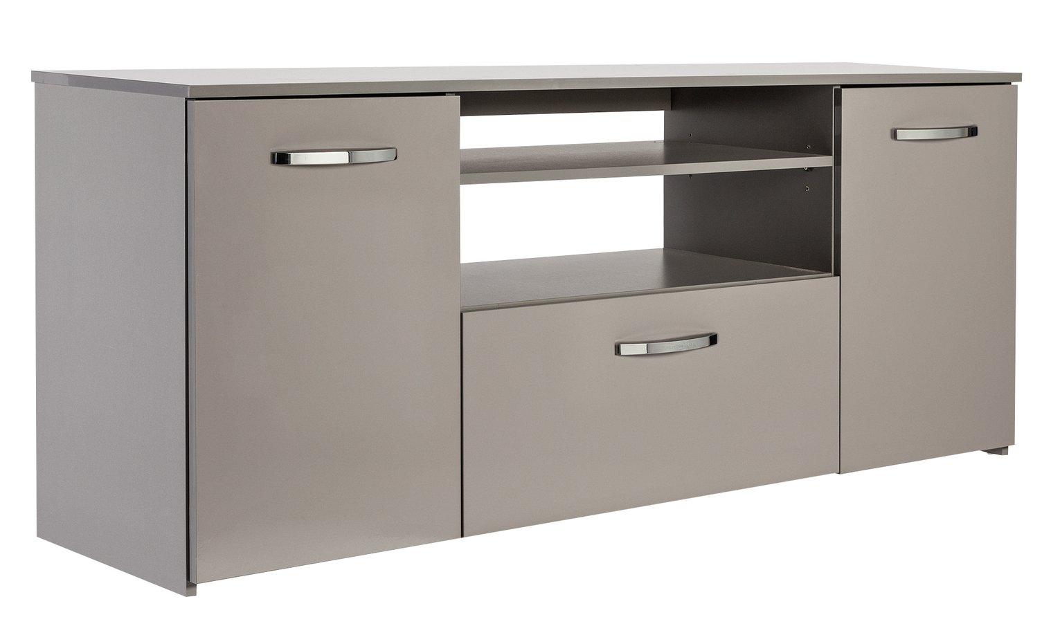 Argos Home Hayward TV & Sideboard Unit - Grey Gloss