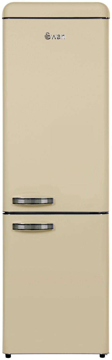 Swan SR11025CN Fridge Freezer - Cream