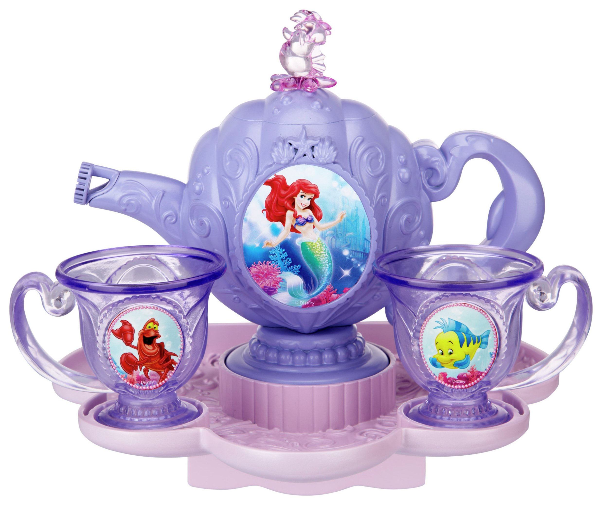 Image of Disney Princess Ariel Bubble Tea Set