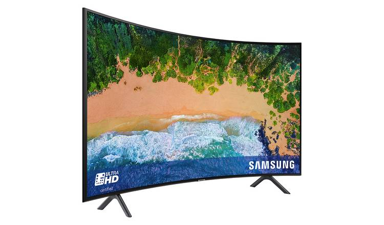 Buy Samsung 49NU7300 49 Inch 4K UHD Curved Smart TV With HDR | Televisions  | Argos