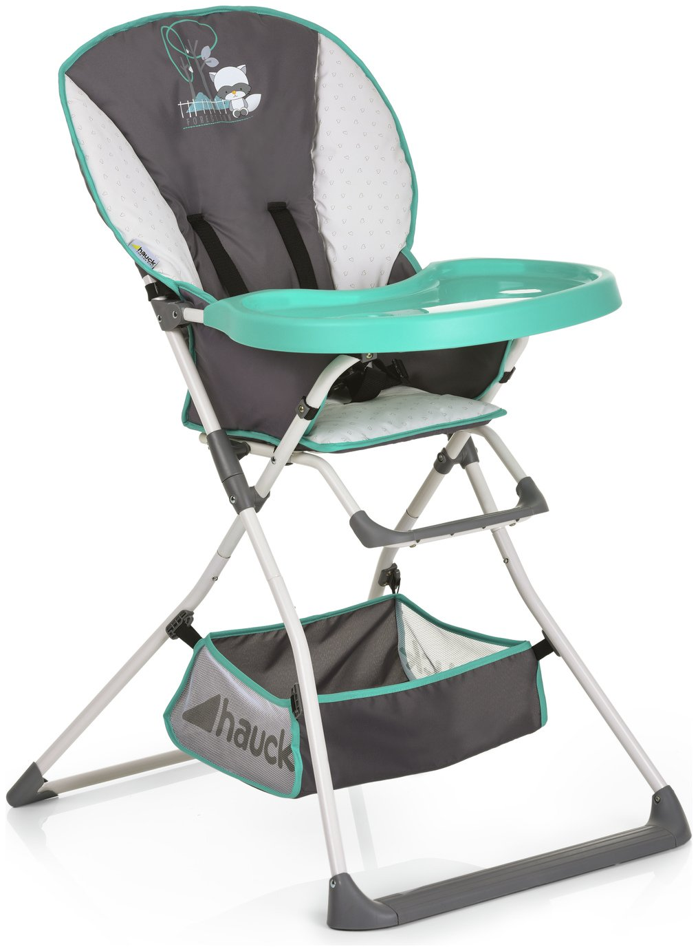 Image of Hauck Mac Baby Deluxe High Chair - Forest Fun