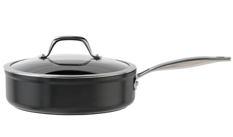 Argos Home 24cm Forged Aluminium Saute Pan