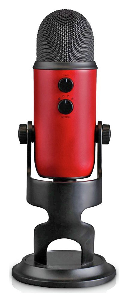 Image of Blue Yeti USB Microphone - Satin Red