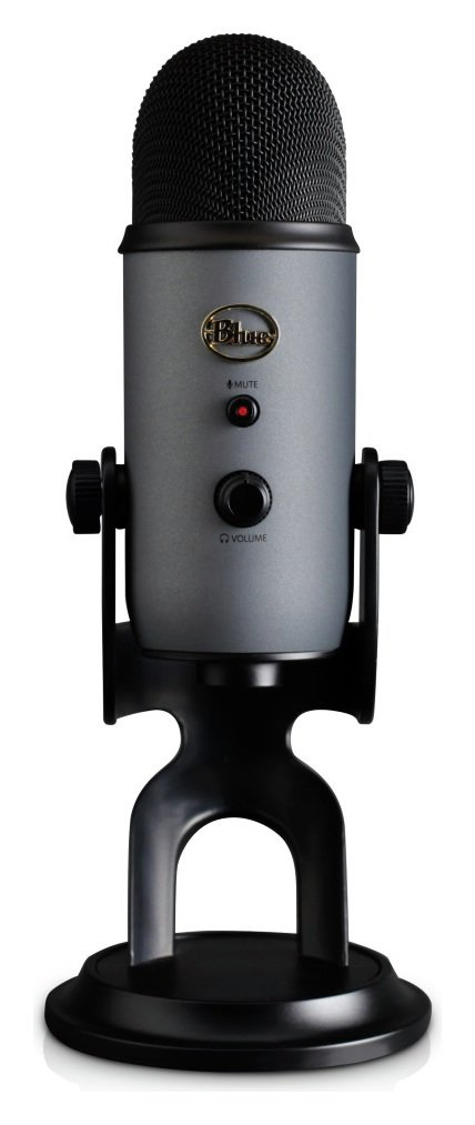Image of Blue Yeti USB Microphone - Slate Grey