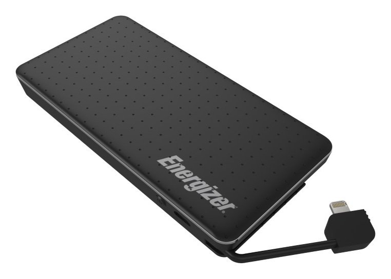 Image of Energizer 10000mAh Integrated Cable Portable Power Bank