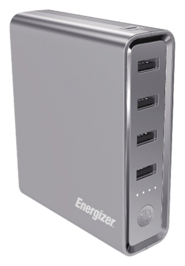 Energizer 20000mAh Macbook Portable Power Bank - Grey