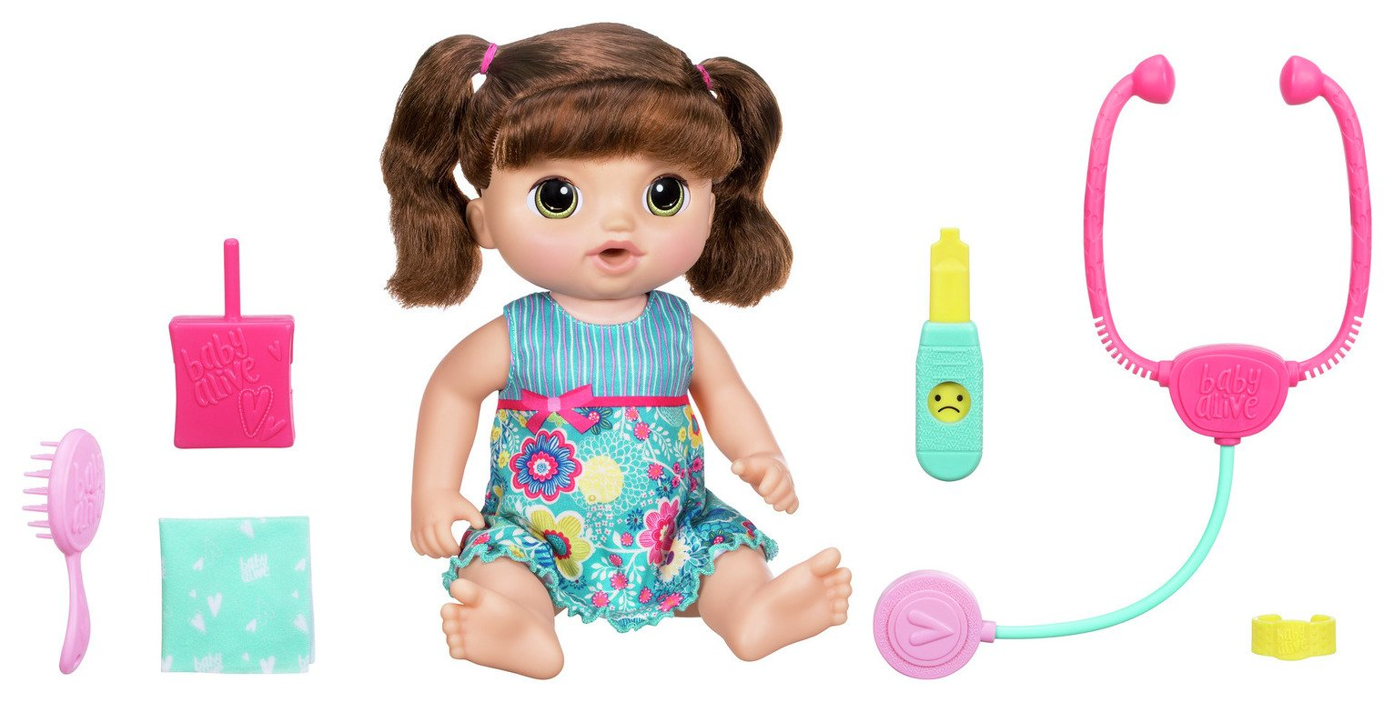Image of Baby Alive Sweet Tears Brunette Baby