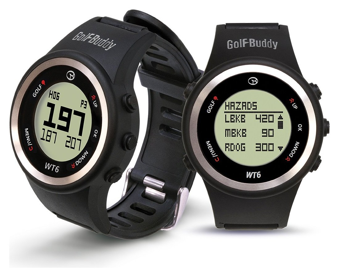 Image of Golfbuddy WT6 GPS Rangefinder Watch - Black