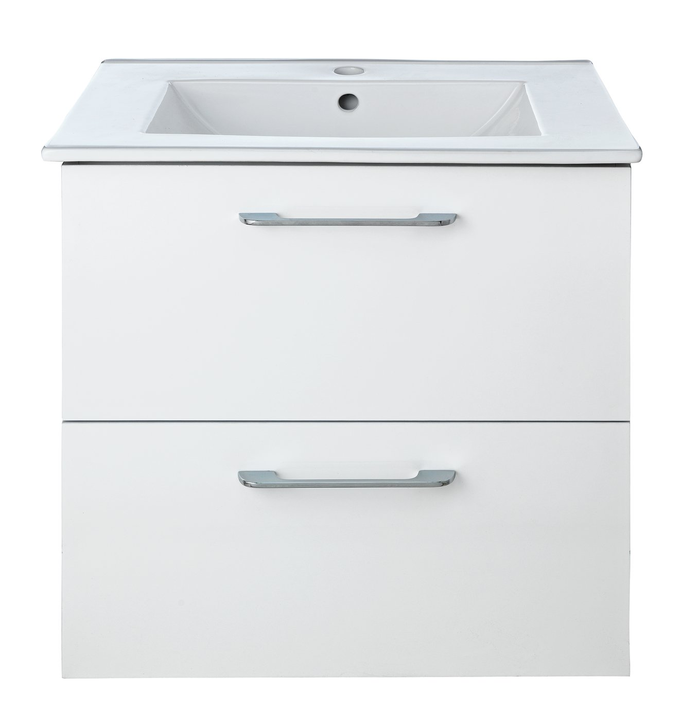 Argos Home Flotante Vanity Unit & Basin - White