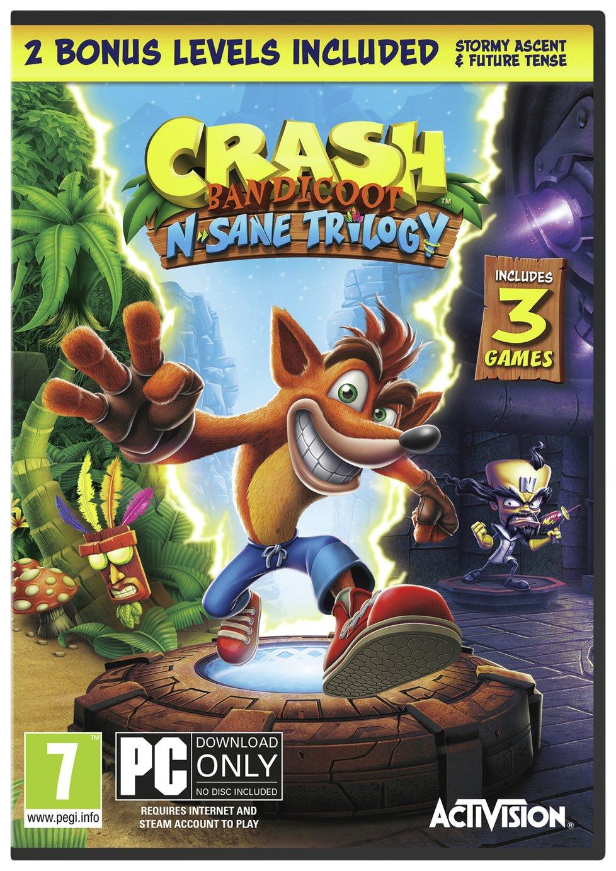 Image of Crash Bandicoot N. Sane Trilogy PC Pre-Order Game