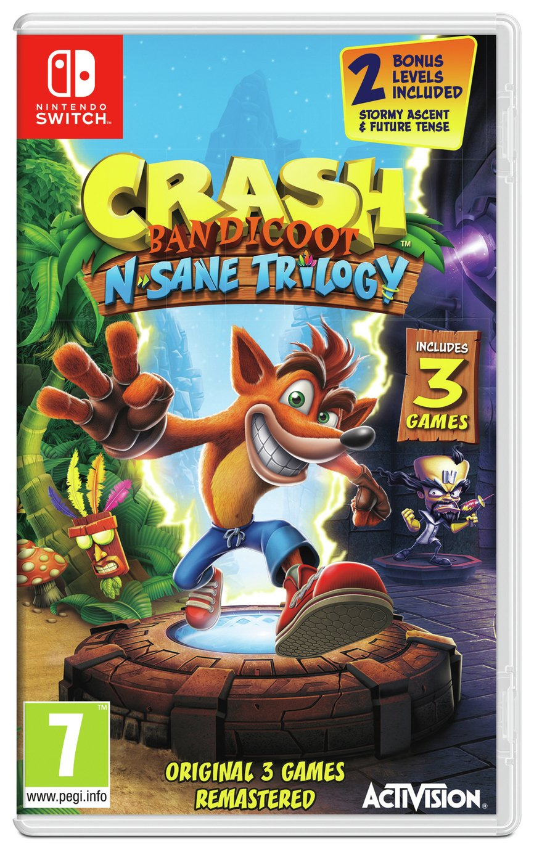 Image of Crash Bandicoot N. Sane Trio Nintendo Switch Pre-Order Game