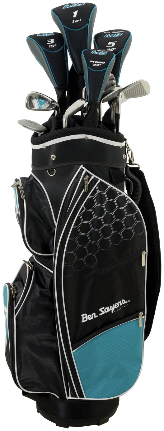 Image of Ben Sayers Youth And Ladies' M8 Golf Set - Turquoise