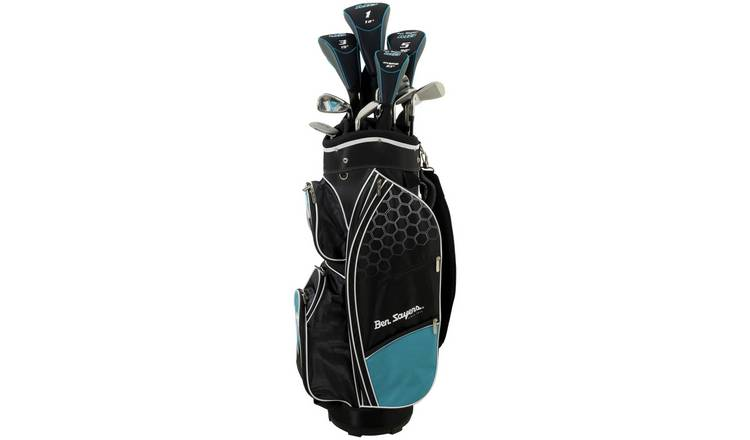 Ben Sayers M8 Junior Golf Club Set and Stand Bag - Turquoise
