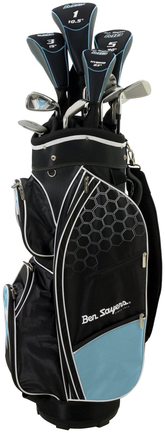 Image of Ben Sayers Youth And Ladies' M8 Golf Set with Cart - Blue