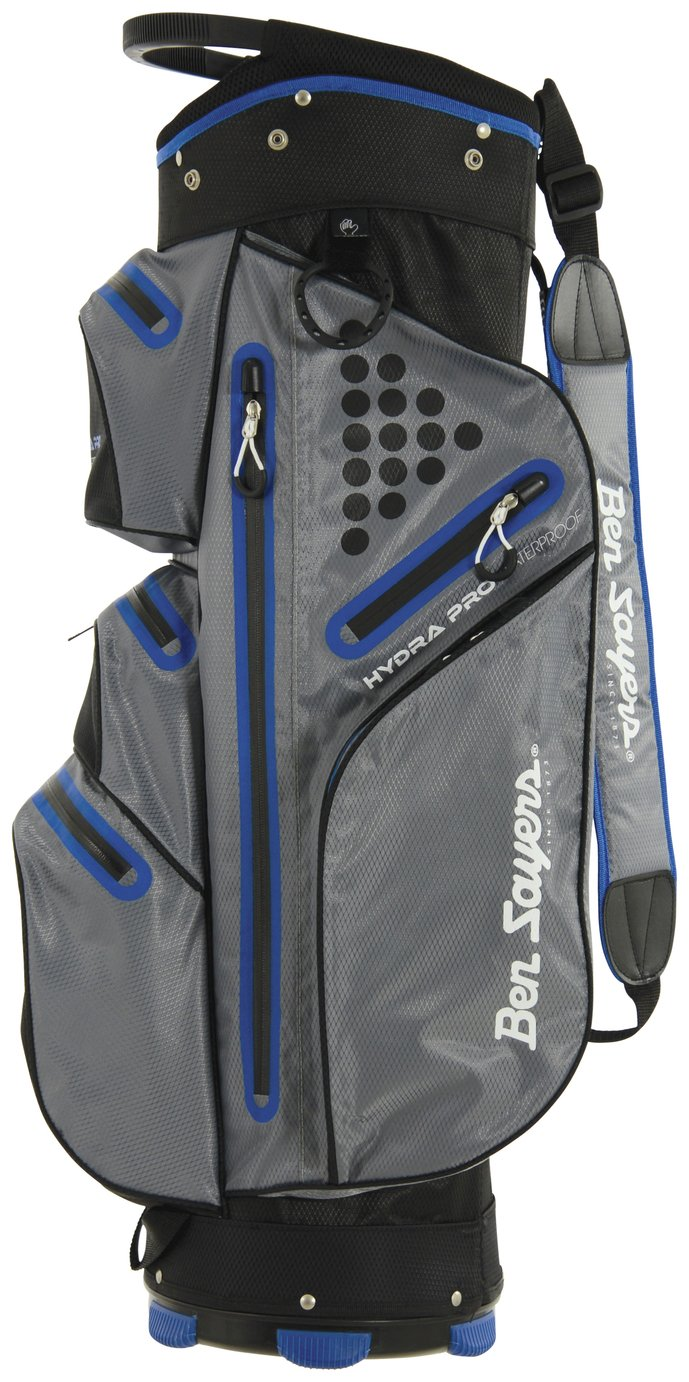 Image of Ben Sayers Waterproof Cart Bag - Grey & Blue
