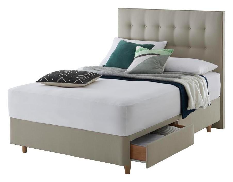 Silentnight Alaro Sand Divan Bed - Superking