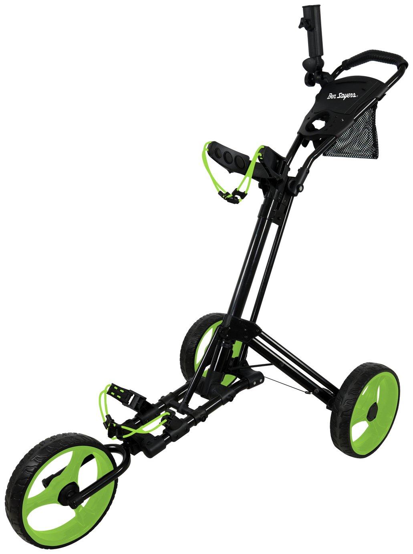 Image of Ben Sayers 3 Wheel Easy Fold Trolley
