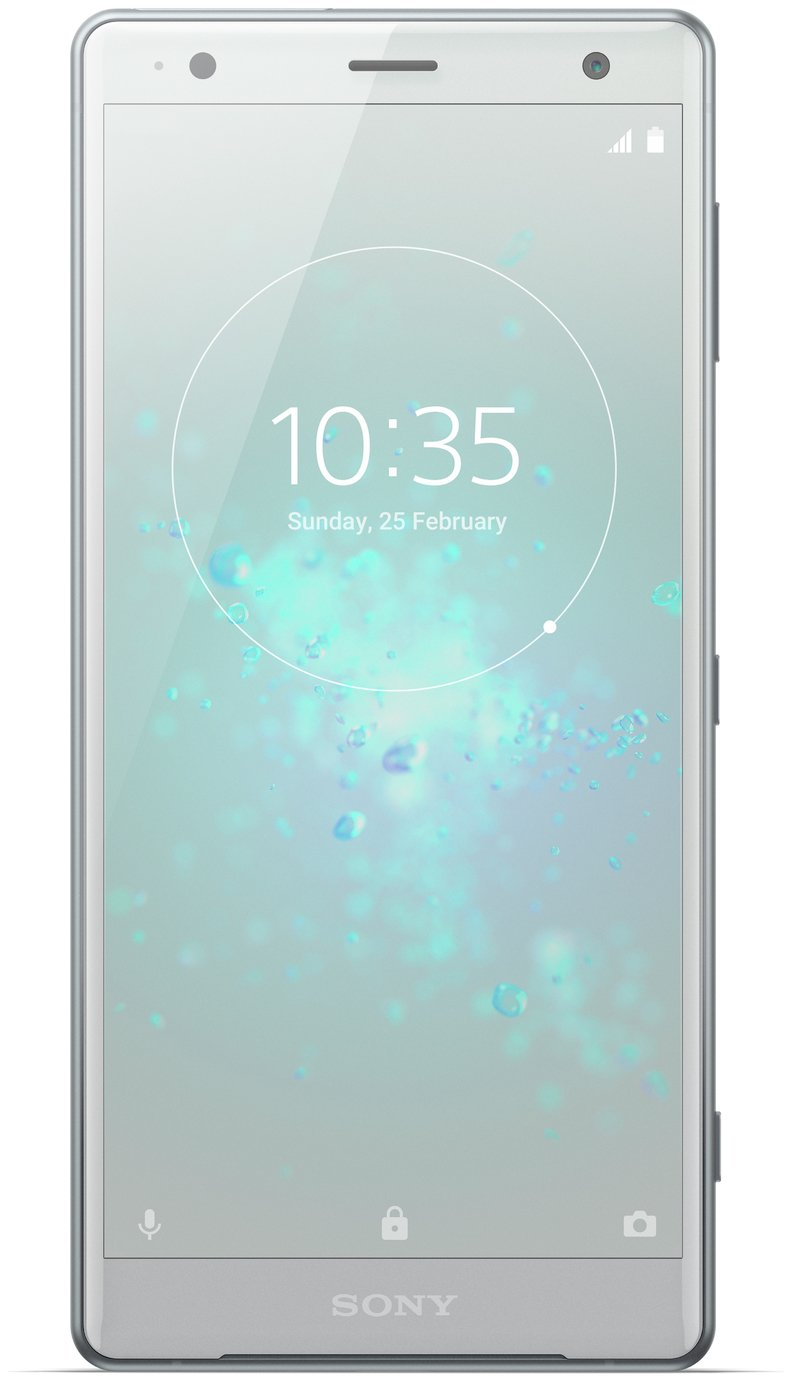 SIM Free Sony Xperia XZ2 64GB Mobile Phone - Liquid Silver