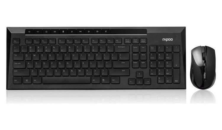 ec7902d847f Buy Rapoo 8200P Desktop Wireless Mouse and Keyboard | PC ...