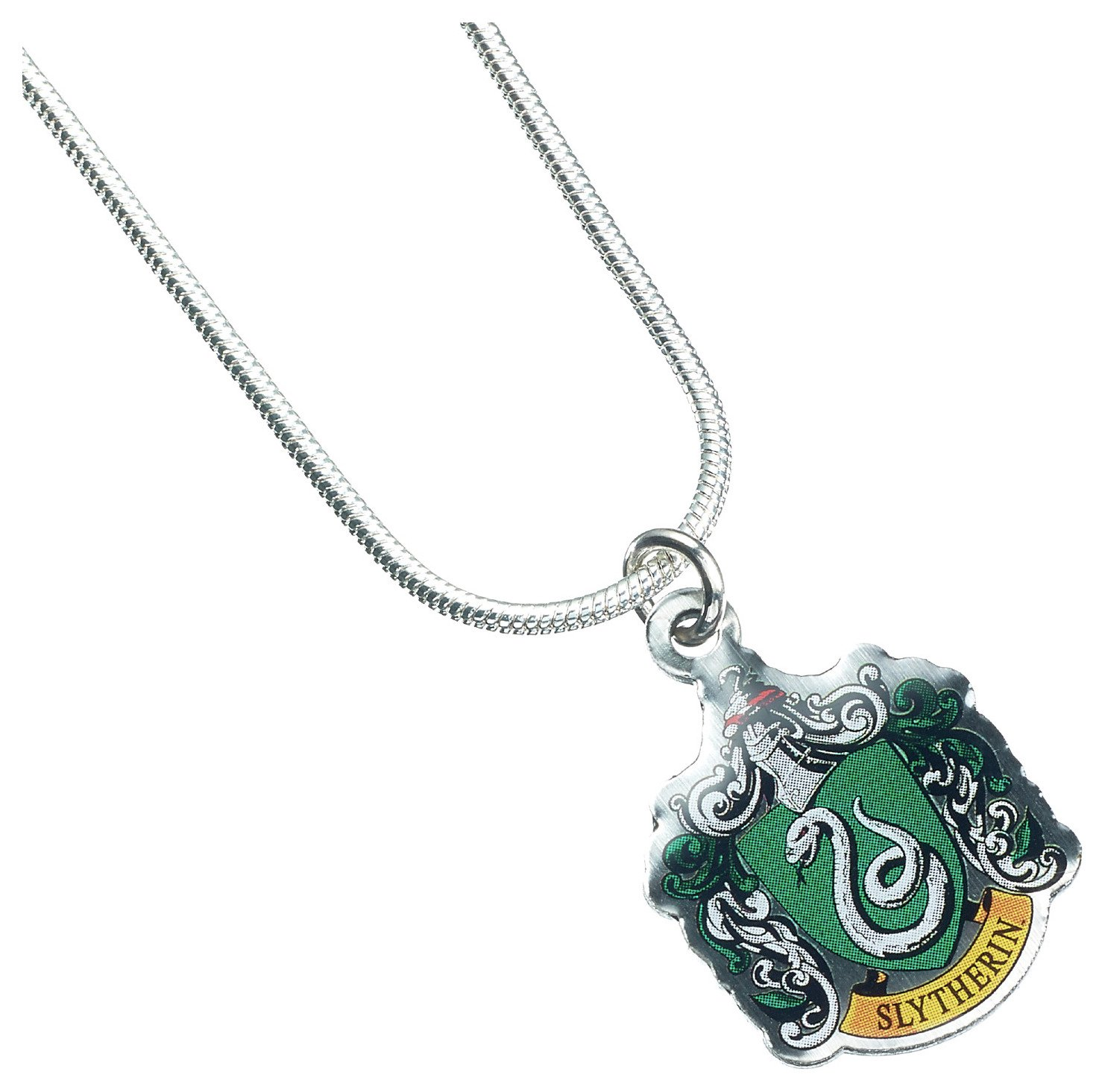 Image of Harry Potter Silver Colour Slytherin Pendant