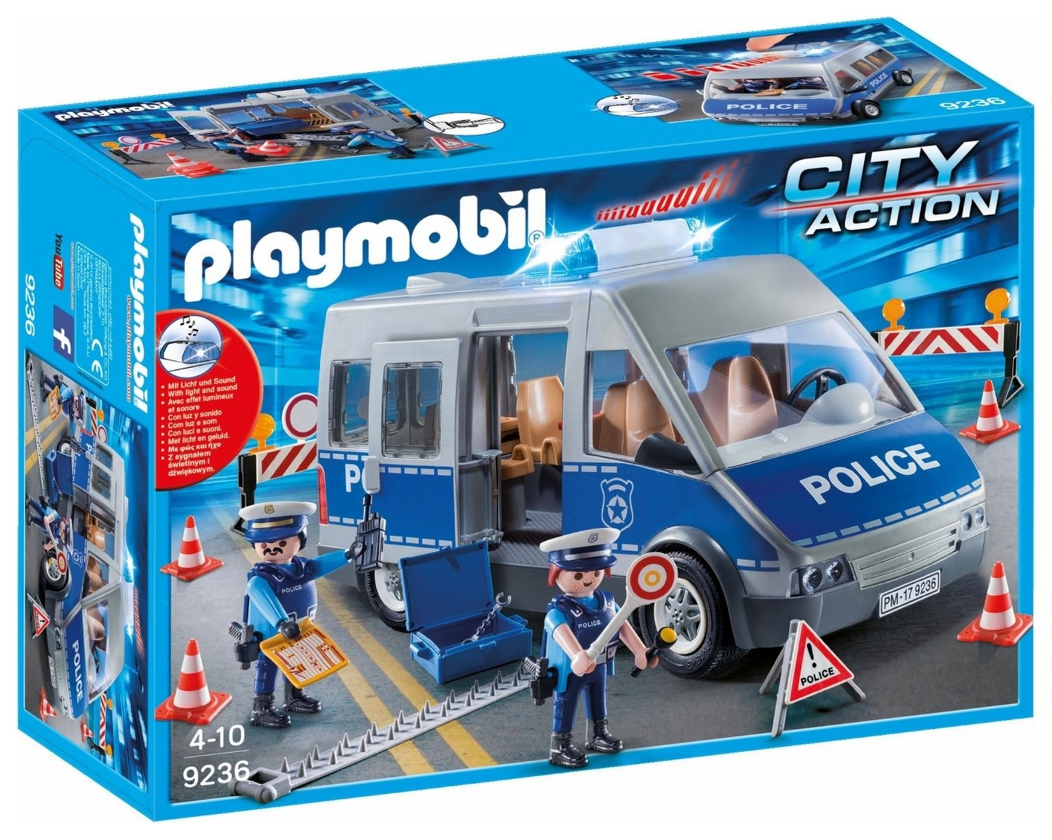 Playmobil 9236 City Action Policemen with Van