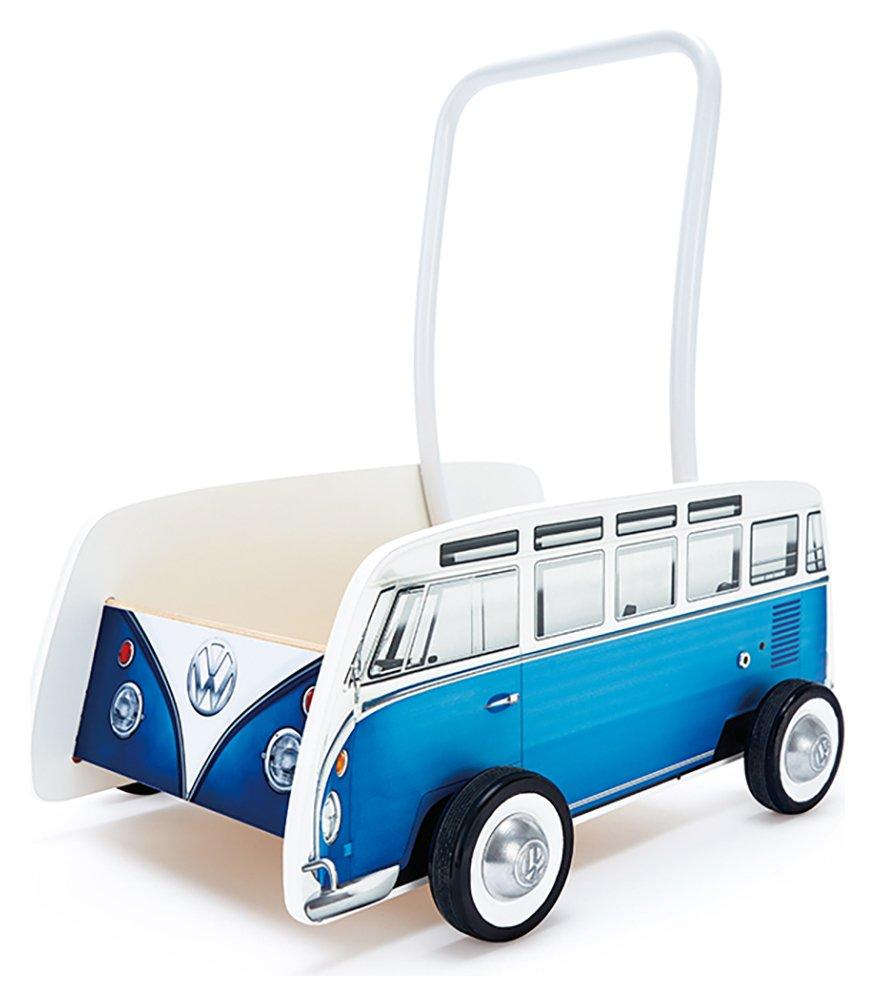 Image of Hape VW Camper Van Walker - Blue