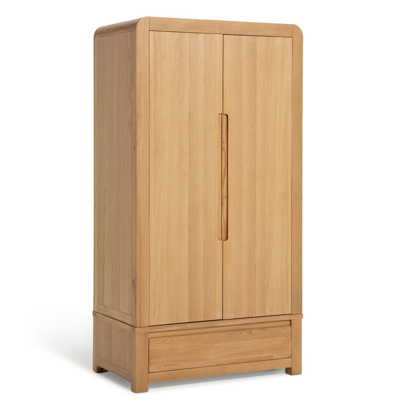 Argos Home Novara 2 Door Wardrobe - Oak & Oak Veneer