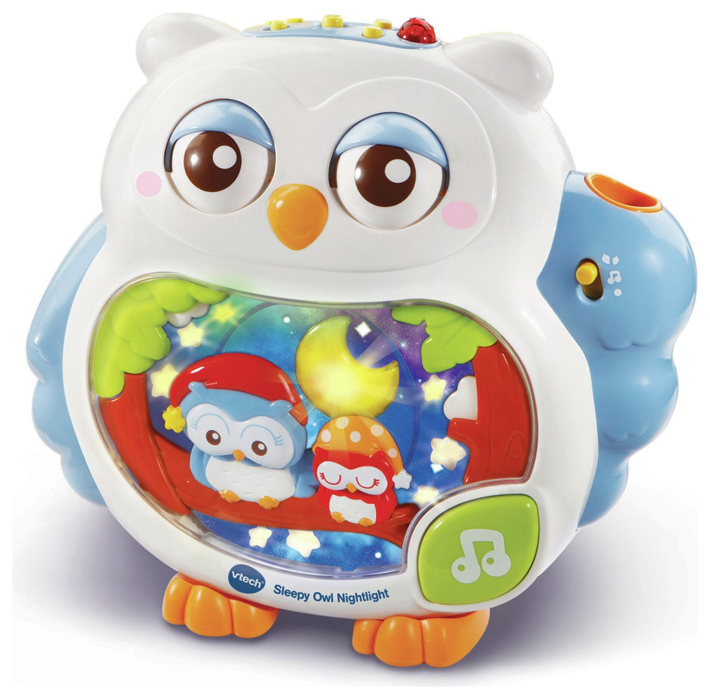 VTech Sleepy Owl Nightlight Cot Soother