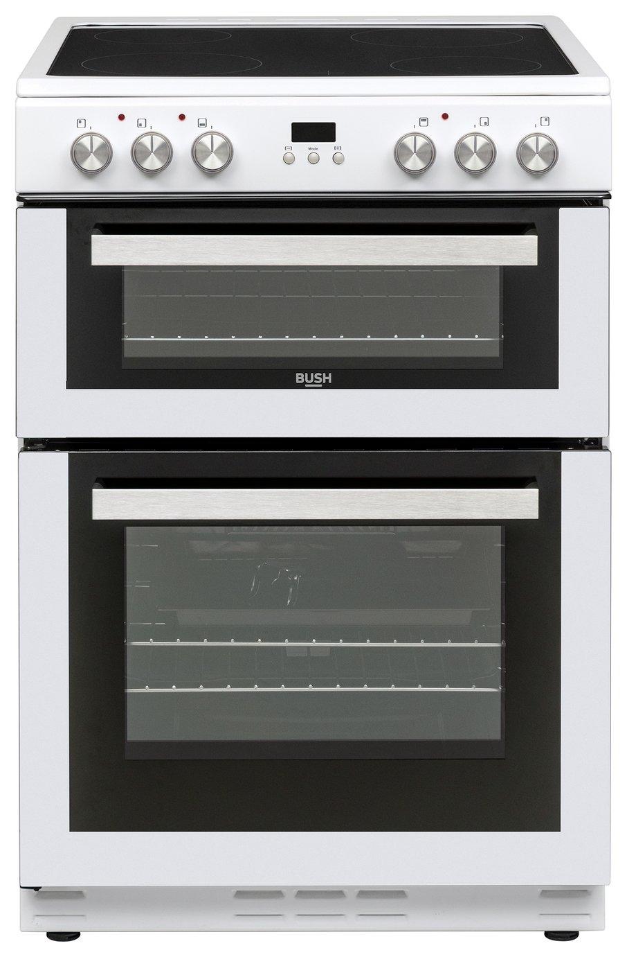 Bush BLC60DBL Electric Cooker - White