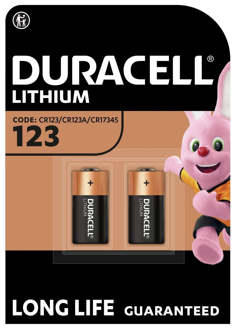 Image of Duracell Ultra 123 Photo Lithium Batteries - 2 Pack