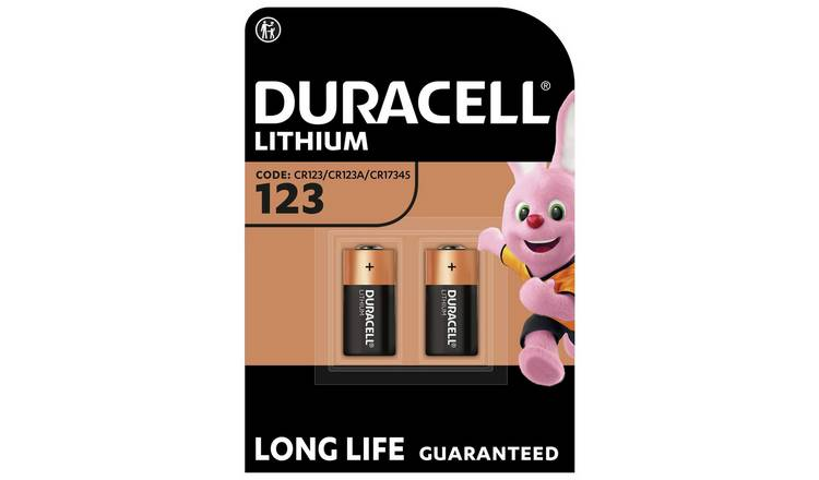 Duracell High Power Lithium 123 Battery 3V - Pack of 2