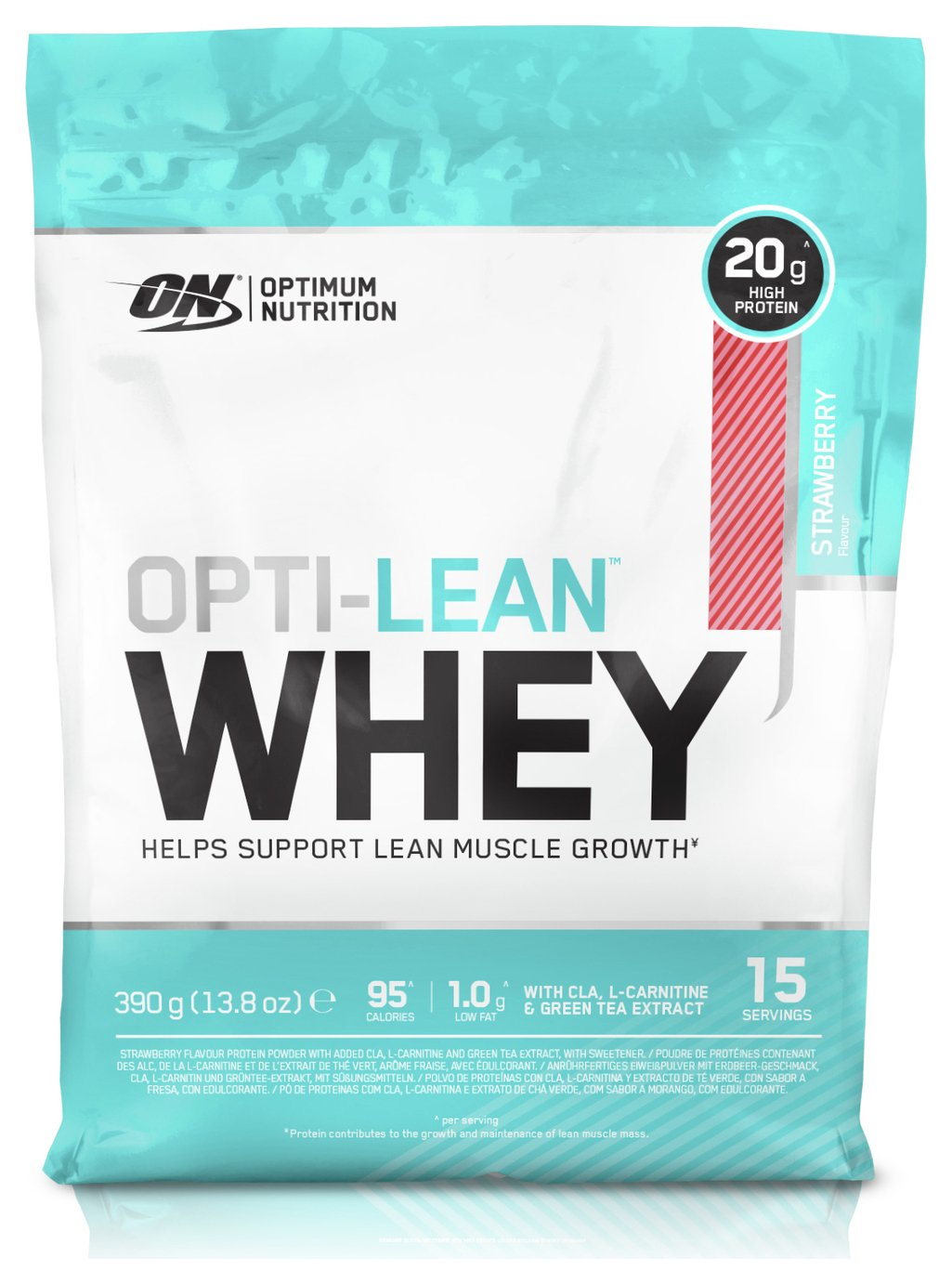 Optimum Nutrition Opti-Lean Whey 780g Protein Shake