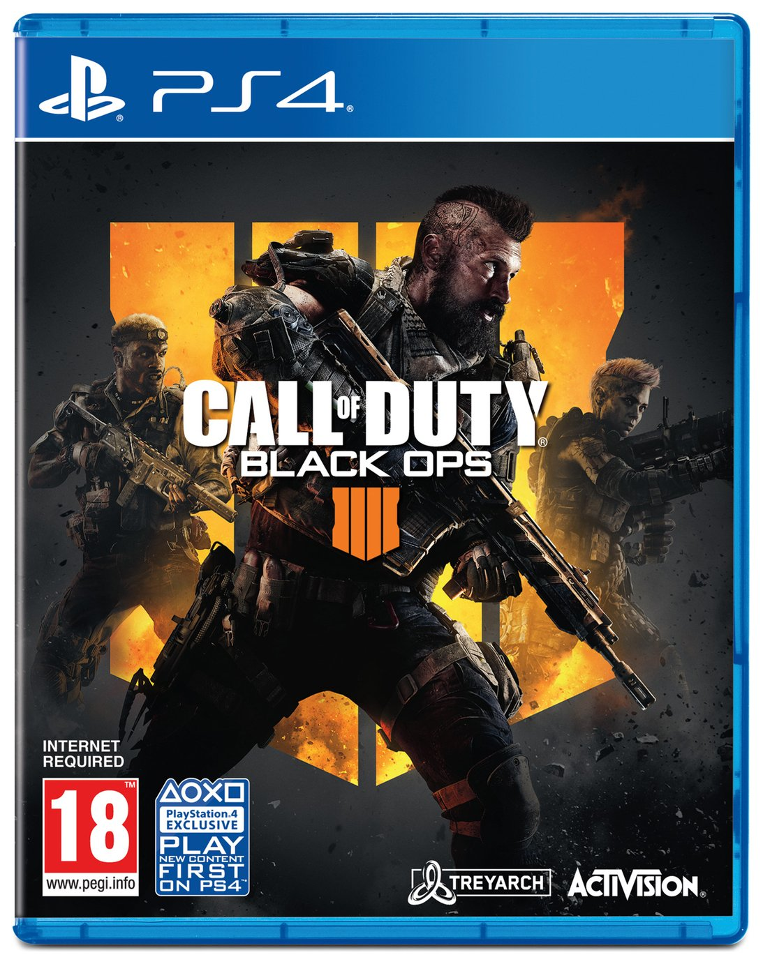 Image of Call of Duty: Black Ops 4 PS4 Pre-Order Game