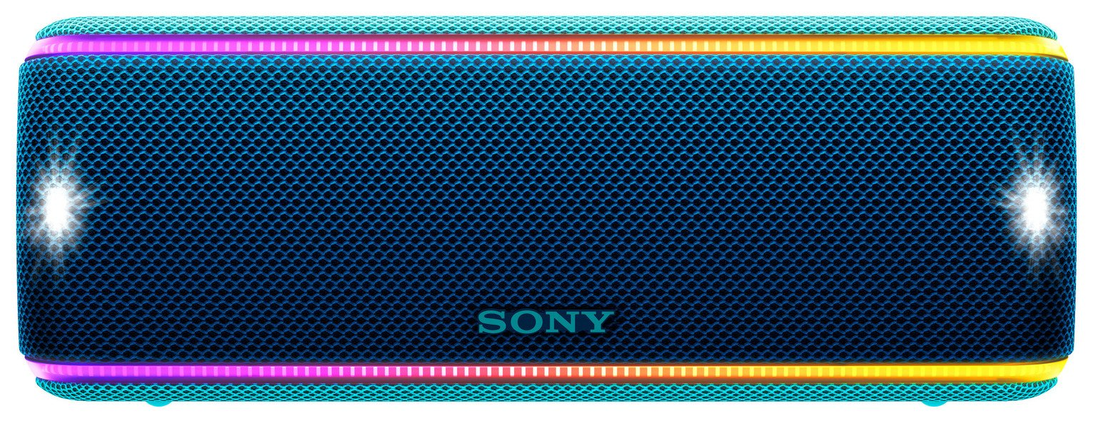 Sony SRSXB31L Portable Wireless Speaker - Blue