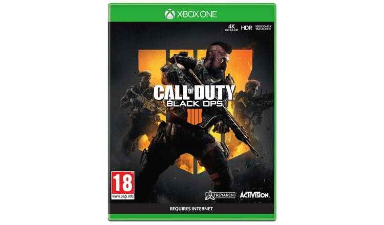 Buy Call Of Duty Black Ops 4 Xbox One Game Xbox One Games