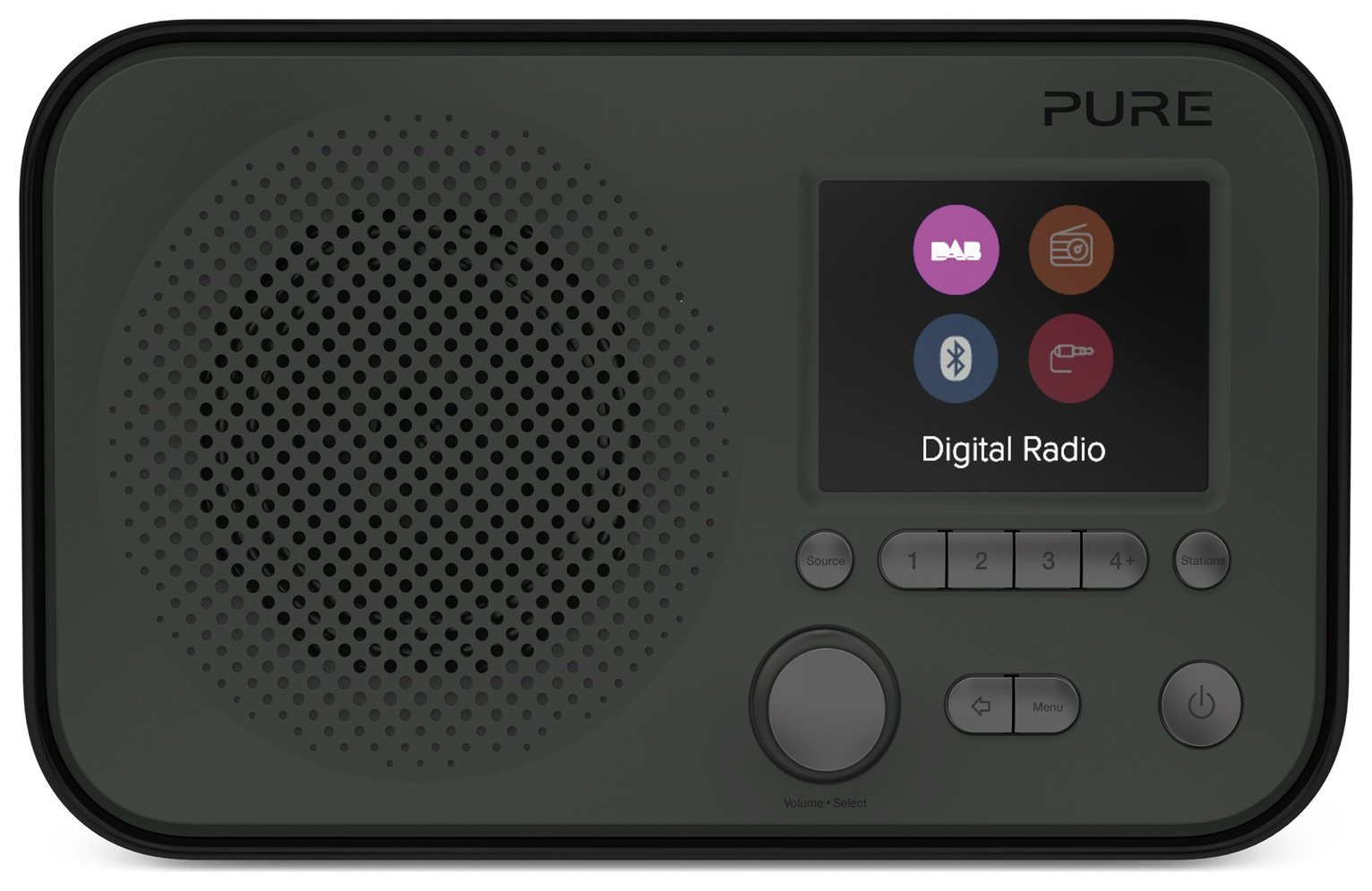 Pure Elan BT3 Portable Radio - Graphite