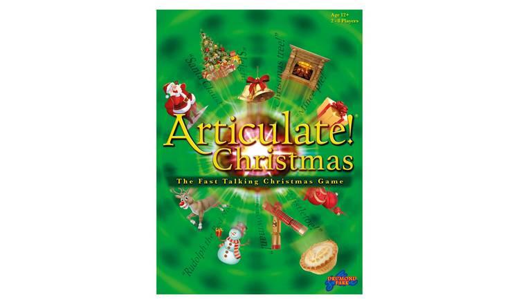 Buy Christmas Articulate Board Game   Board games   Argos