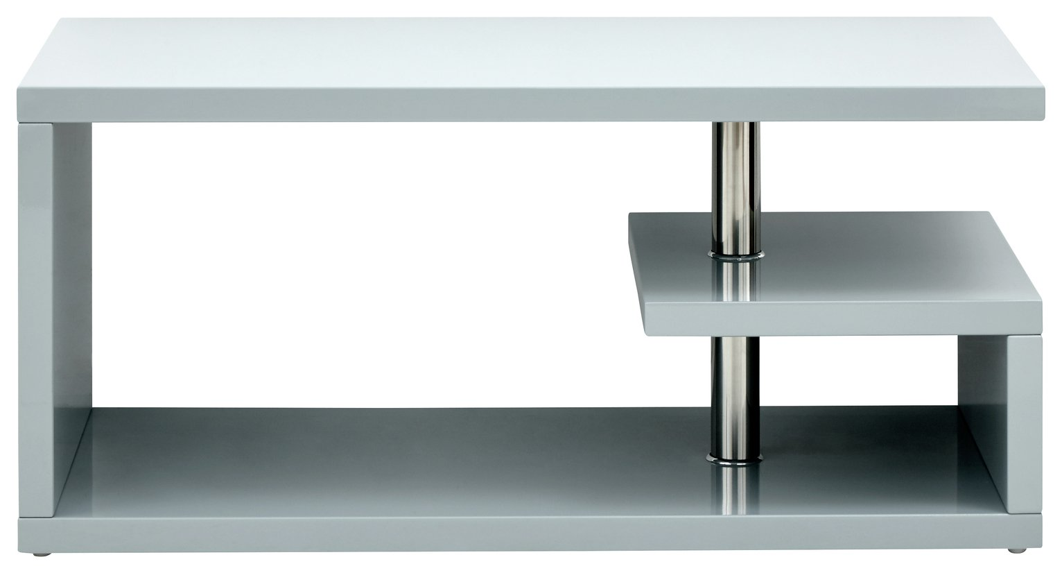 Polar Coffee Table - Grey Gloss