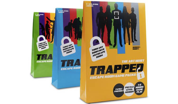 Trapped Escape Room Game Assorted