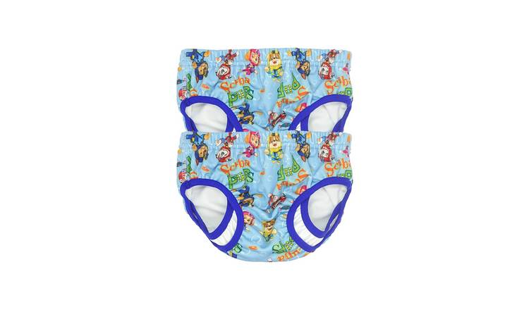 PAW Patrol Small Pack of 2 Swim Pants - Blue