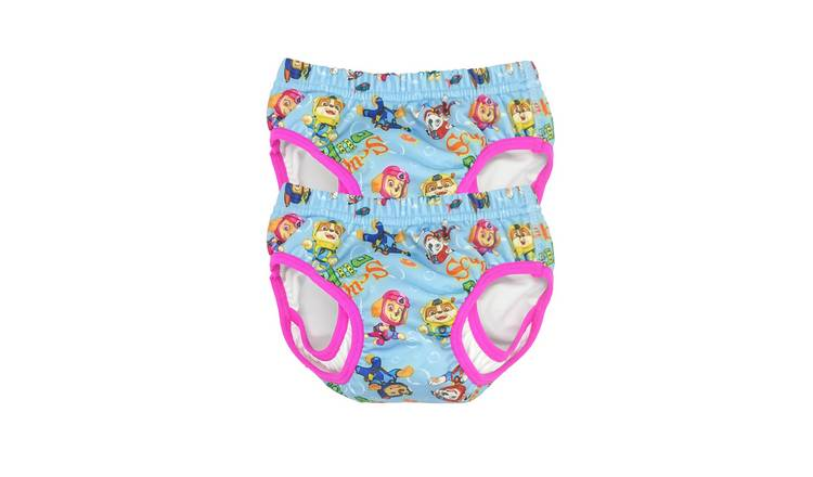 PAW Patrol Small Pack of 2 Swim Pants - Pink